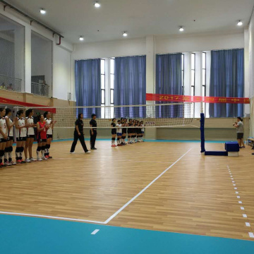 CE approved match use PVC volleyball court floor