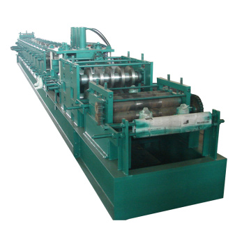 Low cost building machine c z purlin price of steel frame machine