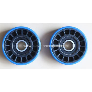 Xizi OTIS Escalator Step Roller 76.2*21.6*6203/6204