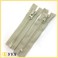 Heavy duty No8 No10 plastic resin zipper