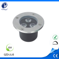 Factory wholesales recessed 6W outdoor inground light