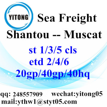 Shantou Ocean Freight Shipping Services to Muscat