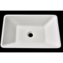 Irregular acrylic solid surface washbasin for bathroom