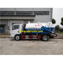 Dongfeng 4200L Fecal Suction Tanker Trucks