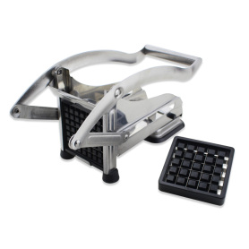 Stainless Steel French Fry Cutter with Suction Feet