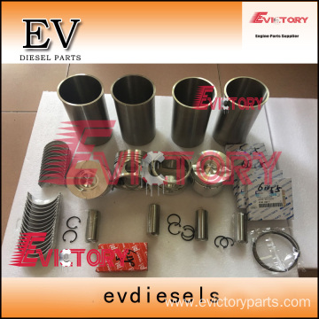 excavator SA4D95 engine gasket bearing piston ring liner