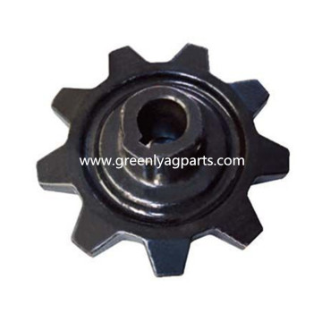 Big Discount for John Deere Combine spare Parts, John Deere Cornhead Parts From China Manufacturer 70577247 Agco 9 Tooth Heat Treated Drive Sprocket export to Rwanda Importers