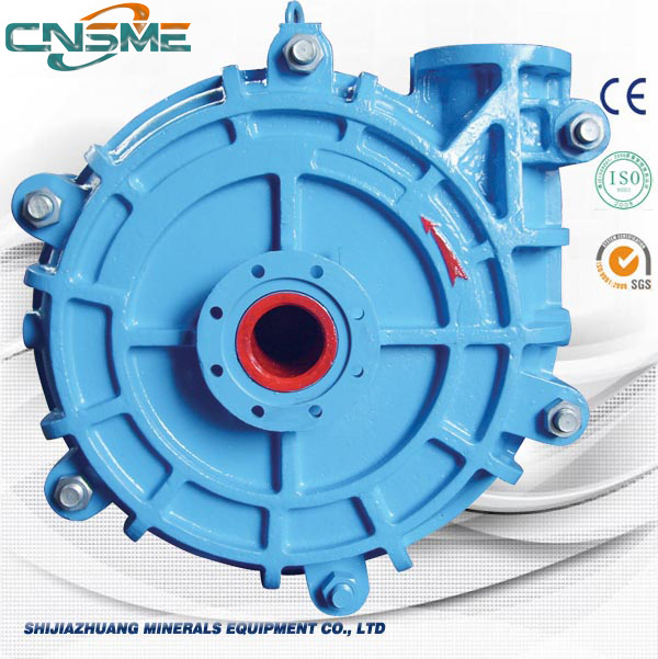 Heavy duty concrete slurry pump