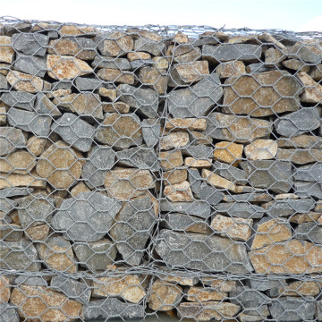 High Quality PVC Coated Erosion Control Gabion Baskets