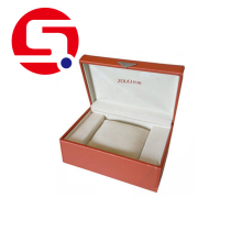 Hot Sale for Custom Wooden Gift Box Engraved watch gift box pack export to Netherlands Manufacturer