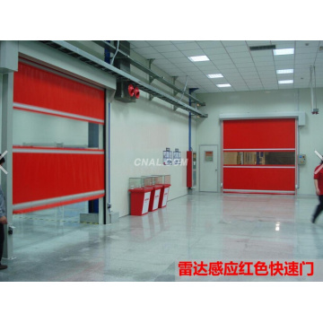 Industrial PVC Curtain High Speed Roller Door