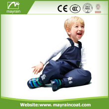 wholesale lovely raincoat for teenagers with PU trousers
