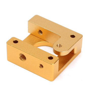 3D Printer Extruder Parts Brass CNC Milling Machining