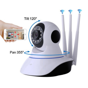 720P Security IR Night Vision WIFI IP Camera