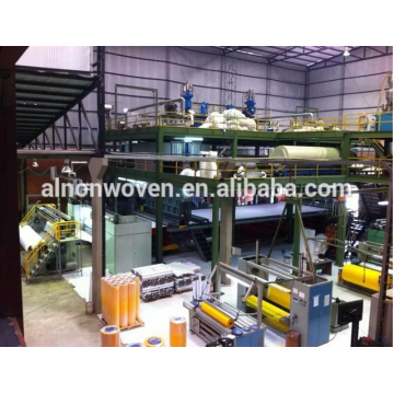 2400mm Fabric Shopping Bag Making Machine SSS/SMS Model