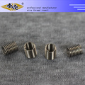 Customize any size furniture tangless threaded insert
