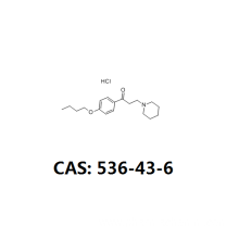 Dyclonine hydrochloride api cas 536-43-6 oral anaesthetic