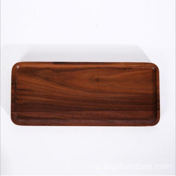Different size wood tray restaurant wooden food serving trays