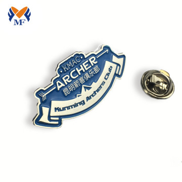 Fashion soft enamel metal badge pin for club