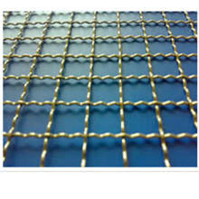Galvanized Lock Crimp Wire Mesh High Tensile