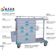 Medical device anesthetic vehicles cart