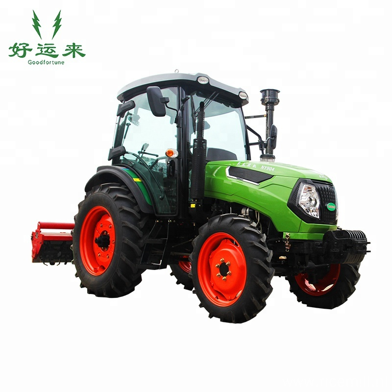Agriculture cheap 4*4 wheel tractor machine