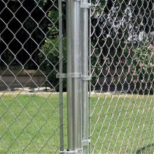 Galvanized Chain Mesh Fence Opening