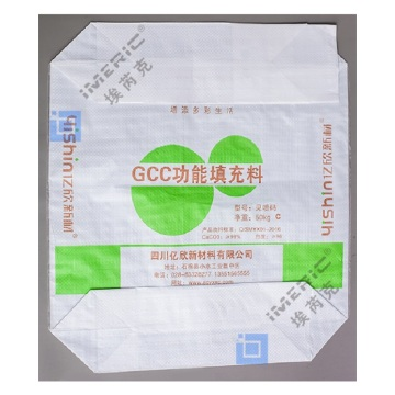 Block Bottom Paper Bag Cement With Outer Valve