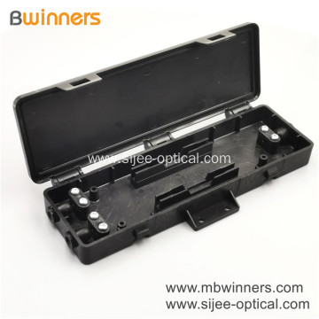 Ftth Fiber Distribution Box 2 Cores Wall Mount Termination Box