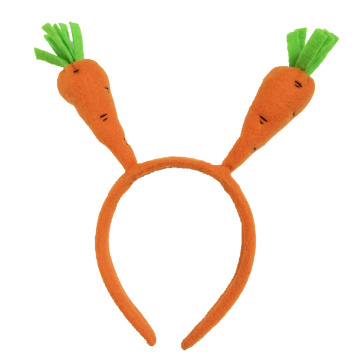Easter carrot shape headband