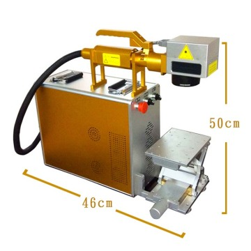 Portable fiber laser marking machine for metals&non-metal
