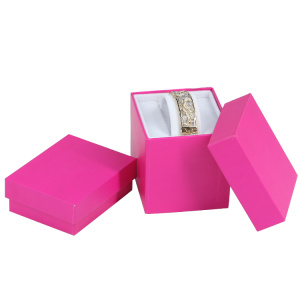 Rigid Cardboard Jewellery Paper Necklace Box Wholesale