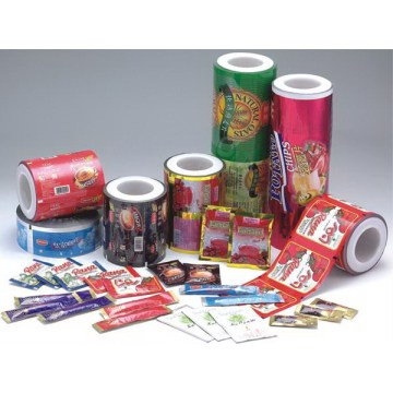 Plastic packaging roll stock Aluminum foil food grade packaging