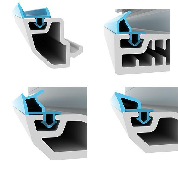 rubber profiles for window