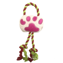 Top Paw Plush Rope Foot Toy