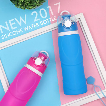 Amazon Hot Selling Insulated Silicone Water Bottle