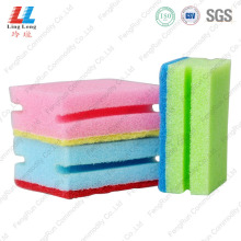 OEM for Sponge Scouring Pad dish and pot cleaning sponge supply to United States Manufacturer