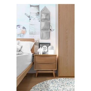 "FAS WOODEN ""RIPPLING"" NIGHTSTANDS"