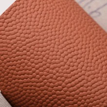 Elastic Grain Embossed PU Synthetic Leather for Football