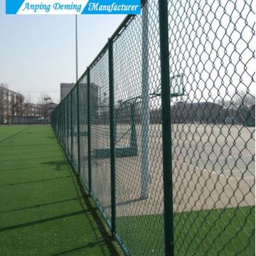 Good Quality Hot Dip Galvanized Chain Link Fence