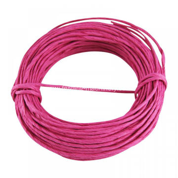 red color twisted paper cord