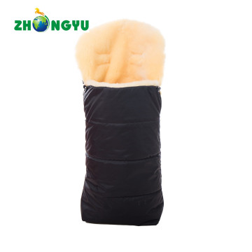 Footmuff with Lambskin for Baby