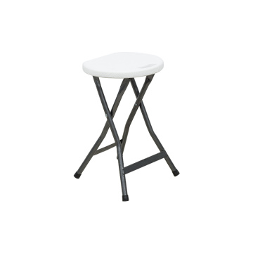Heavy Duty Plastic Folding Stool For Living Room