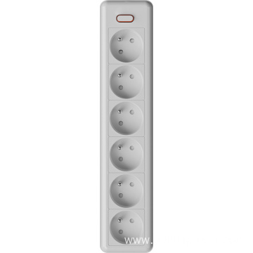 6 ways French extension sockets