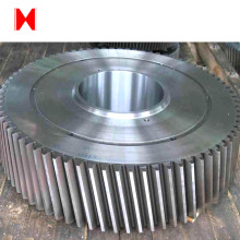 cast large metal spur gear