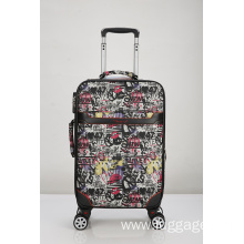 Printed EVA Trolley Luggage