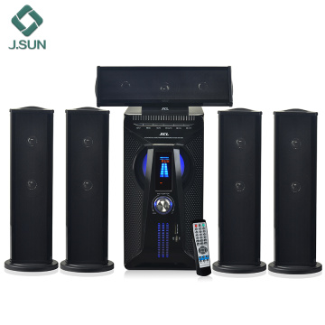 Home entertainment speaker distribution system