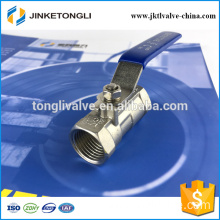 JKTL1B029 manufacture 1pc water cast iron ball valve uses