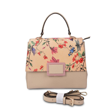 Botkier Turnlock Mod Large Shopper Flower Printing Tote