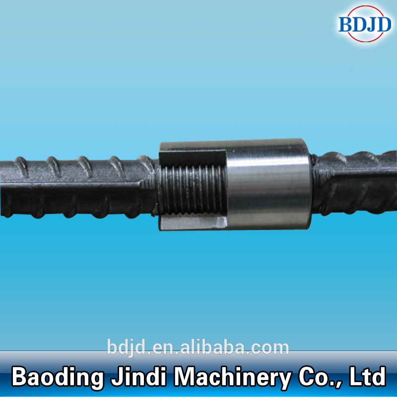 Metal Building Material Threaded Splicing Rebar Coupler